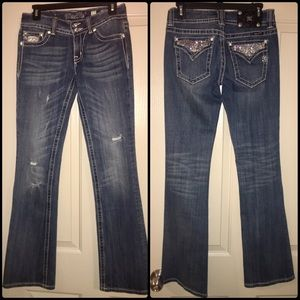 Miss Me brand Medium Wash Boot Cut Jeans